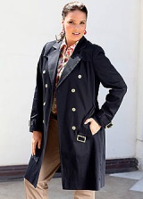 Trendy Trench Coat Shop Curvissas New Spring Collection!