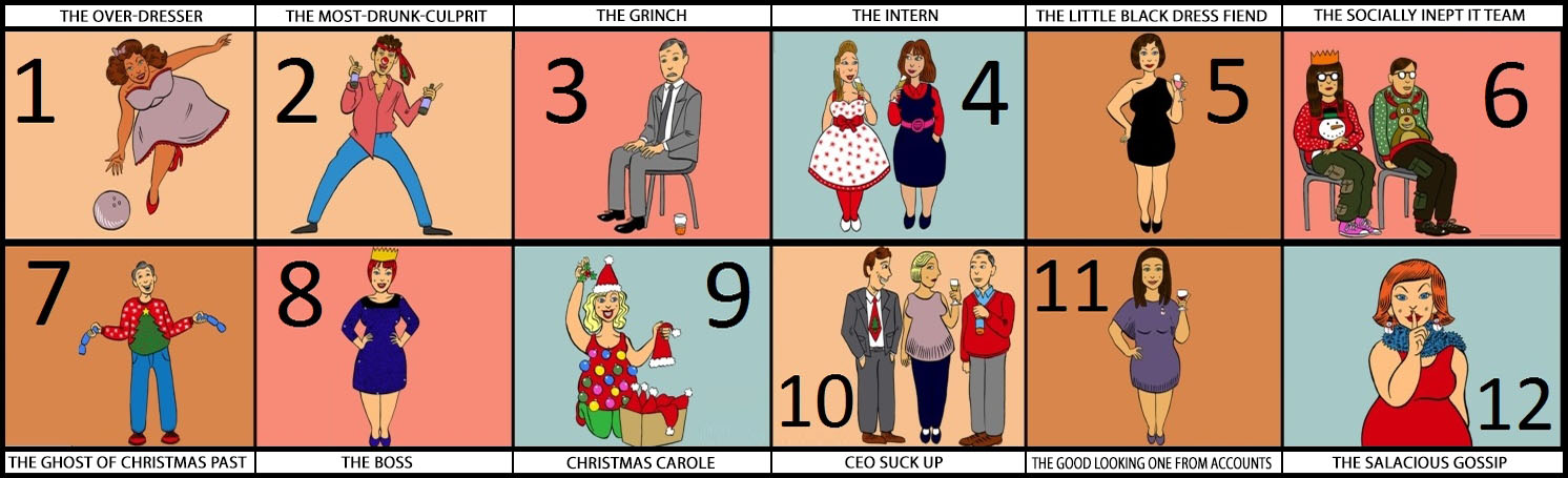 office stereotypes. Christmas Party Stereotypes FS Office F