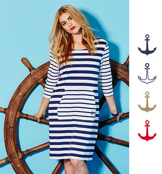 Nautical Trend | Plus Size Fashion | Curvissa