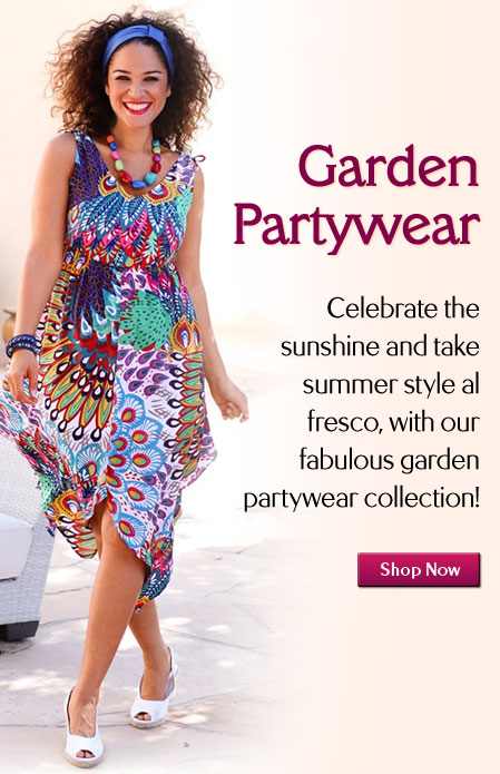 Plus Size Garden Party Dresses And Garden Party Fashion In 14 32